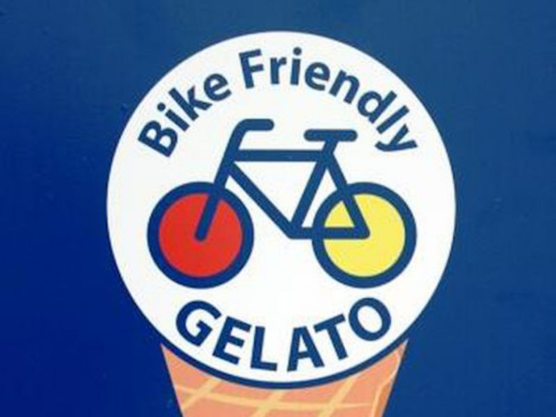 Gelato Mashcream Bike Friendly Italia