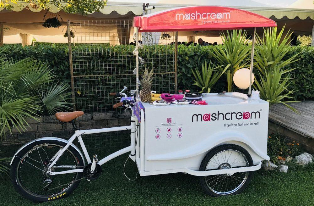 Chiosco gelato Mashcream matrimoni catering eventi