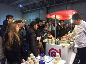 Gelato Mashcream Maker Faire Rome 2017 Roma startup innovazione food makers design