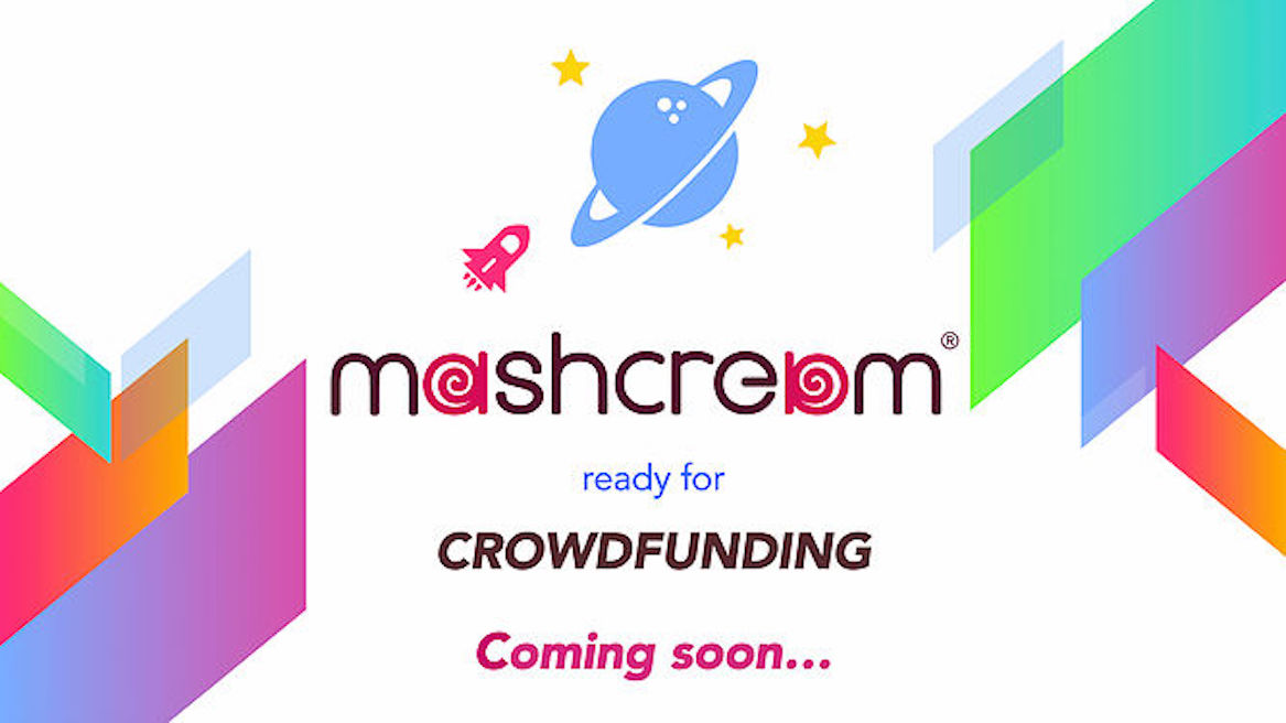 Mashcream Crowdfunding Woop Food Reward based Mashmallow blog