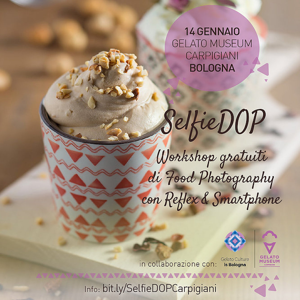 SelfieDOP food photography gelato museum carpigiani Mashmallow blog Mashcream