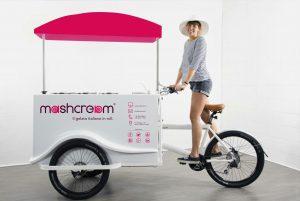 Mashcream Sweetbike bike gelato in roll Mashmallow blog
