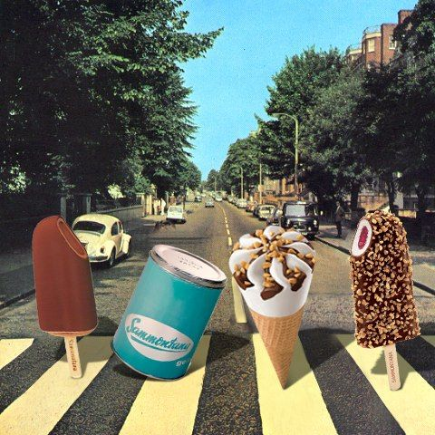 Gelato Mashcream The Beatles