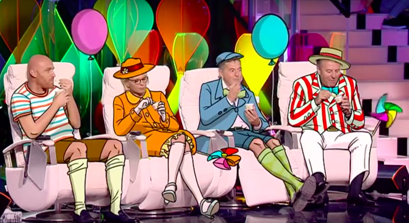 Giacomo Bizzarri gelato Mashcream Tu sì que vales Canale 5 Mediaset