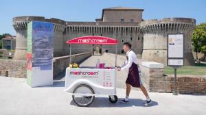 Mashcream sweetbike rocca roveresca senigallia gelato ice cream crodfunding Mashmallow food blog