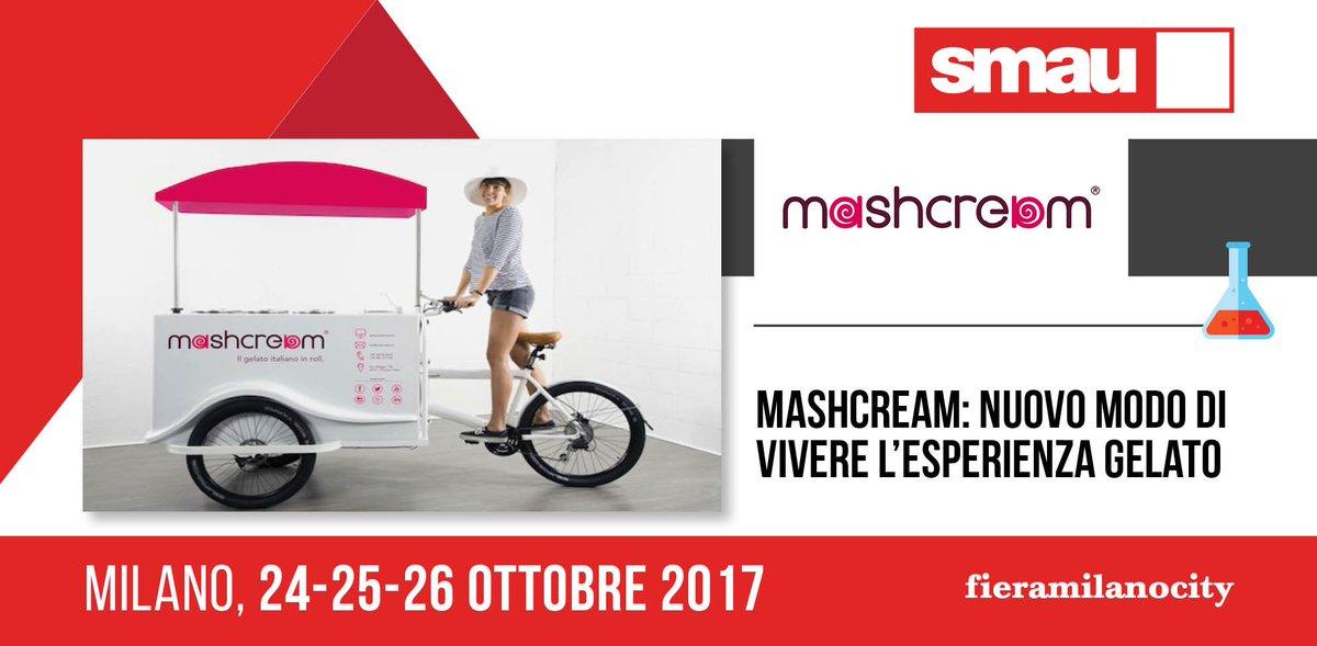 Smau Milano Mashcream startup gelato innovazione tecnologia digital internazionalizzazione