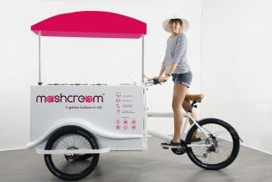 Mashcream Sweetbike bike gelato in roll Mashmallow blog
